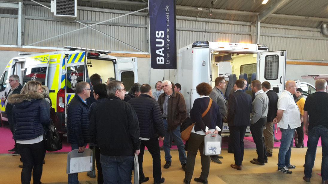 BAUS était présent au salon de la FNTS 2016 à Montpellier.