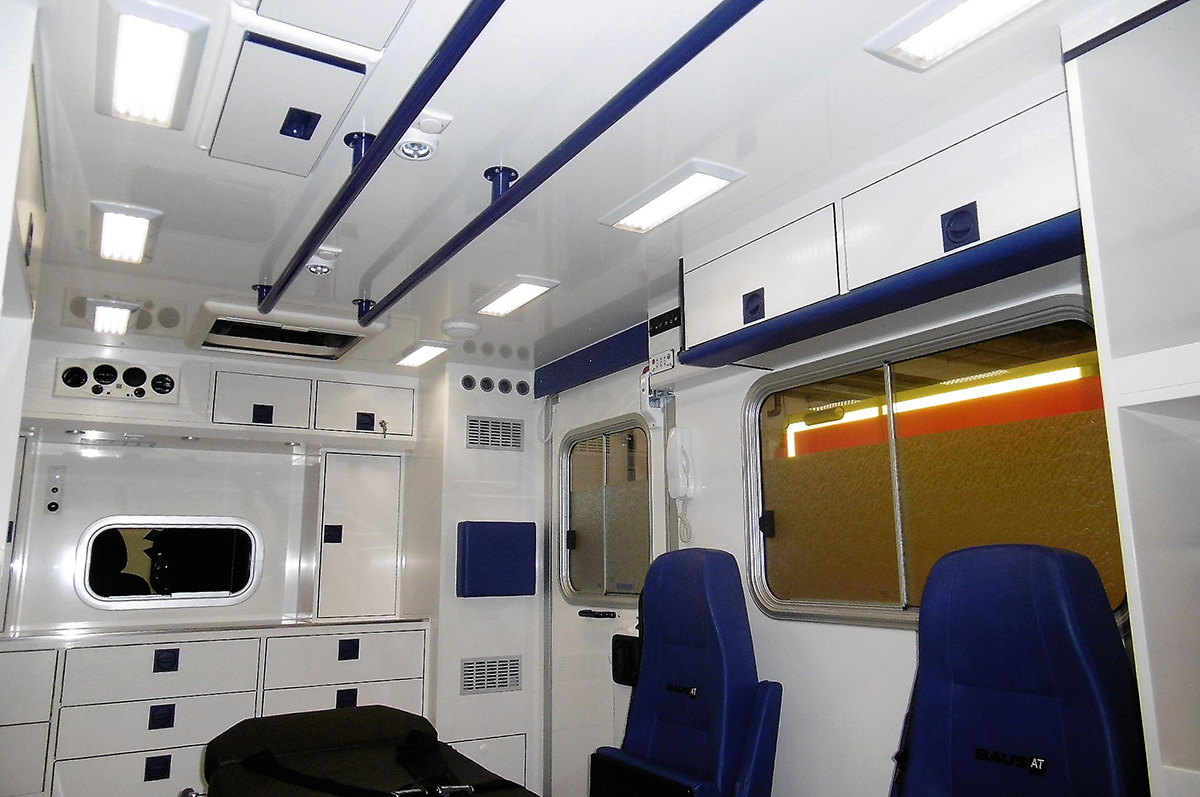 2 nouveaux véhicules pour le SAMU de Beaumont-sur-Oise par Baus France