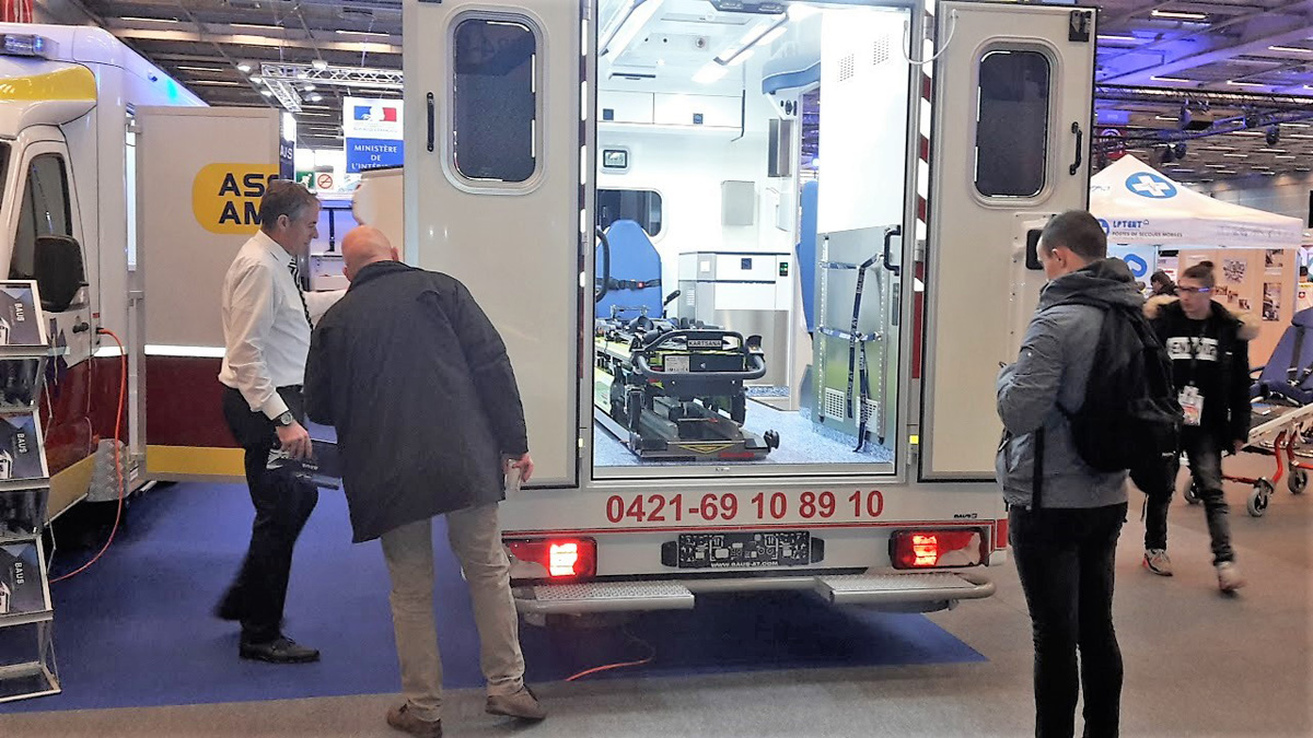 Baus France au salon Secours Expo 2017