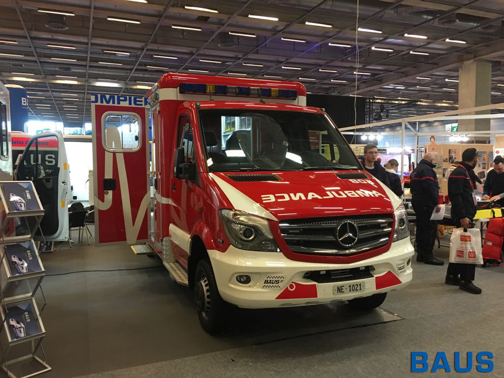 BAUS au Salon Secours Expo 2018 - Ambulances BAUS